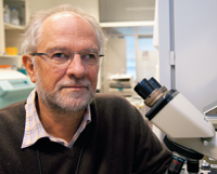 ALL TYPES OF CANCER: Professor Gustav Gaudernack hopes that his most recent cancer vaccine can be used against all types of cancer. Photo: Yngve Vogt